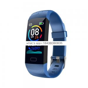 Fitness Tracker Waterproof Activity Tracker with Heart Rate Blood Pressure Monitor Color Screen Smart Bracelet with Sleep