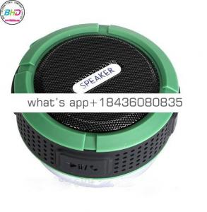 Free shipping 2018 Portable Mini C6 Wireless speaker outside IP5 car speaker for Waterproof speakers