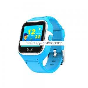 GPS smart watch for children with IP68 waterproof 1.3inch IPS color screen and SOS button refused to stranger calls