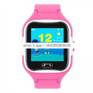 GPS smart watch for children with IP68 waterproof Touch screen and SOS button refused to stranger calls