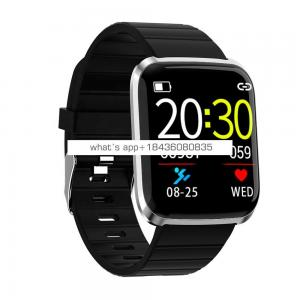 Heart Rate Pedometer Touch Ip67 Waterproof Sport Screen Smart Wristband Bracelet