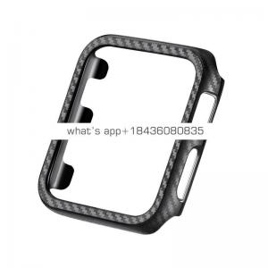 High Quality Carbon Fiber Protective Cover for Apple Watch Series 1 2 3