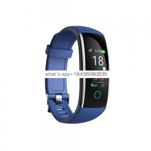 IP68 fitness smart watch heart rate and blood pressure healthy alarm smart watch