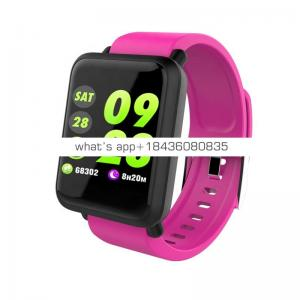 M28 Smart Bracelet Heart Rate Monitor Blood Pressure Fitness Tracker for Android 4.4 and iOS 9.0