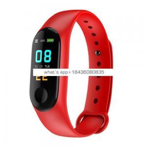 M3 Plus Activity Tracker Heart Rate Monitors HD HR Smart Bracelet Smart Watch