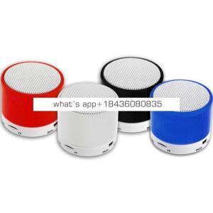 Mini colorful waterproof bluetooth speaker with LED Lights Portable speaker bluetooth