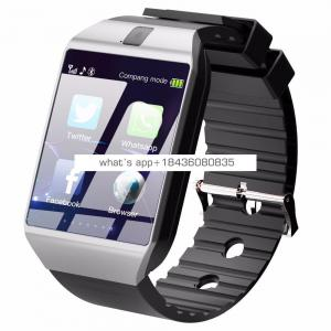 Most Popular CE ROHS Bluetooth Smart Watch 2019 DZ09 with camera GSM support SIM Card