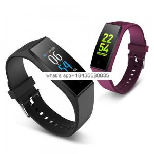 Multi-Functional Waterproof Heart Rate Monitor Fitness Tracker Smart Watch Bracelet