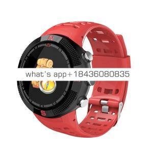 NO.1 3D Screen F18 Multi-function Smart Watch Gps Waterproof Touch Screen Intelligent Smartwatch