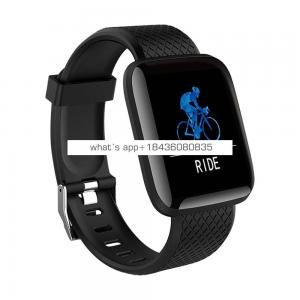 New Arrival CE ROHS Approved 116 Plus Heart Rate Fitness Watch Smart Bracelet