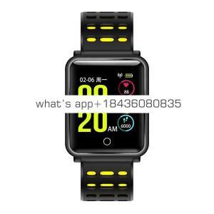 New Bluetooth 4.2 Smart Watch IP68 Waterproof Heart Rate Blood Pressure Monitor Wrist Smartwatch Bracelet for iPhone Xiaomi