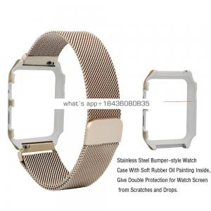 New Milanese Loop Magnetic Stainless Steel Band for Apple Watch Series 3 Sport