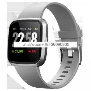New V12 Smart Watch Bracelet With Heart Rate Monitor blood oxygen IP67 Fitness Tracker with CE,ROHS