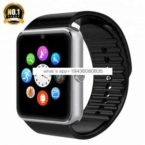 New Waterproof Factory GT08 DZ09 A1 U8 AW08 Smart Watch Phone Sim Card GSM Android Mobile Phone Watch for Smart Phone