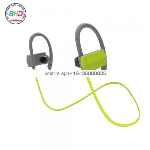 New Waterproof IPX4 bluetooth earphone Wireless Sport Headphone Handsfree Noise Cancelling Earphone for Iphone X