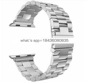 New stainless steel metal clasp band for Apple Watch Series 4
