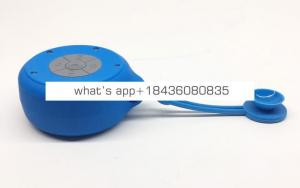 Oem custom logo waterproof Silicone sucker shower speaker wireless speaker