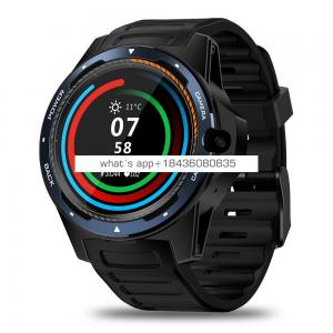 "Original Zeblaze Thor 5 Smart Watch 1.39"" AMOLED Display Screen 2GB+16GB 8MP Front Camera Dual System GPS Smartwatches"