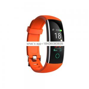 Plastic case metal frame IP68 swimming Luxury smart watch heart rate and blood pressure healthy alarm smart watch
