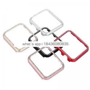 Popular Rhinestone Diamond Cover for Apple Watch Series 38mm 42mm