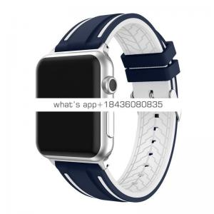 Popular silicone strap for Apple Watch Series 4 40mm 44mm
