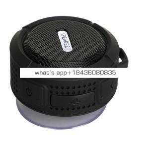 Portable C6 Waterproof speaker wireless mini customized speaker 2019 for iphone x