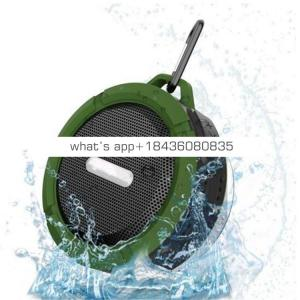 Portable Waterproof outdoor wireless stereo Shower speaker With Mini USB Connection