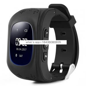 Q50 Kid Smart Watch, Touch Screen SOS Anti-Lost Alarm GPS Tracker, Wrist Phone Watch for Kids Children Boys Girls