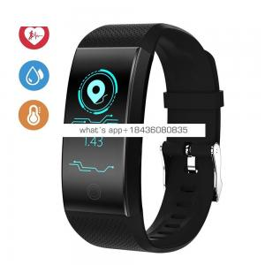 QW18 Fitness Watch Smart Sports Bracelet With Blood Pressure
