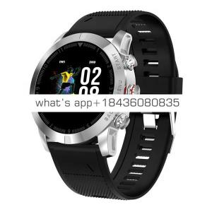 S10 Big Color Screen Barometer Heart rate Blood Pressure Multi-sports Mode Compass Altitude HRV Smart watch