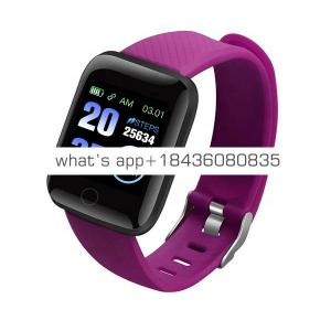 Smart Watch 116 Plus Heart Rate Watch Smart Wristband Sports Watch Smart Band Waterproof Smartwatch Android IOS