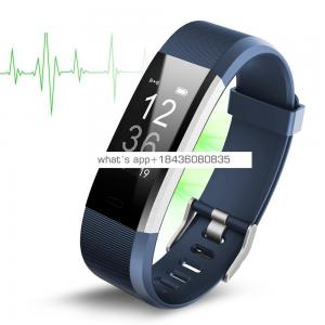 Smart Watch 2019 Bracelet 115 Plus Fitness Tracker Smart Wristband