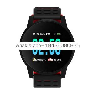 Smart Watch W1 Blood Pressure Measurement Watch Waterproof IP67 Heart Rate Monitor Fitness Smart bracelet for Women Men