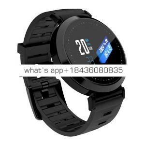 Smart Wristband OLED Color Screen  Fitness Tracker Blood Pressure Watch Pedometer Bluetooth Heart Rate Monitor Smart Bracelet