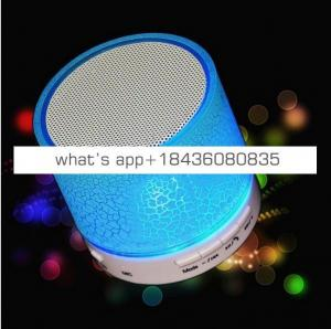 Speaker Portable Bluetooth Wireless Speakers Smart Touch LED  Lamp With TF Card Radio Fm 2019 speaker