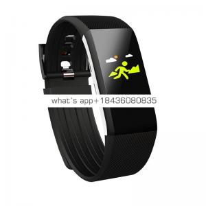 Sport smart wristband bar waterproof IP 67 blood pressure smartwatch for IOS Android ID115 plus Color HR