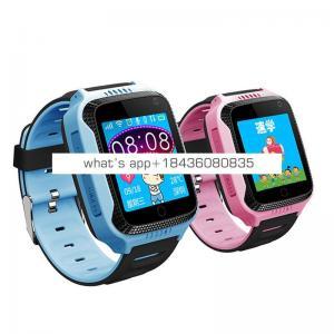 TKYUAN Smart Gps Watch Tracker Kids Watch Flashlight Camera Touch Screen Sos Call Location Baby Watches Smart Wristwatch