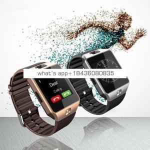 Wearable Smartwatch Devices DZ09 Smart Wrist Watch Digital TF Card Smartphone Watch DZ09