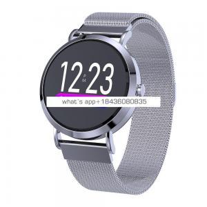 Weather forecast girl Social Media Notification Anti-lost Sleeping Monitoring Multi-Language led smart watch digital