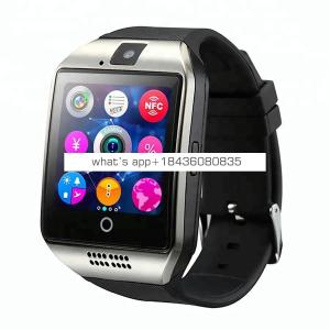 Wholesale Smart Watch Q18 with Camera Bluetooth Wristwatch SIM Card Smartwatch for Android Phones Support Multi Language
