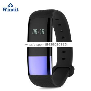 Winait 2017 hot sale M4 smart bracelet with OLED display Sleep Monitoring Alarm prompt