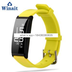 Winait 2017 hot sale X9 smart bracelet with Vibration reminder Monitor sleep quality Heart rate monitoring