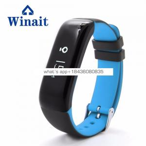 Winait P1 wireless bracelet with OLED display, call reminder, touch button