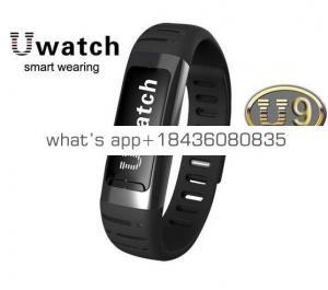 Winait practical U9 wireless bracelet with 110mah battery,Pedometer, message reminder,distance