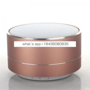 Wireless LED Speaker Stereo Sound Hands free Call Mini Portable Light Subwoofer Loudspeakers Music Audio With Mic TF
