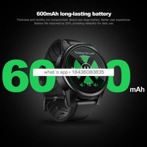 Zeblaze THOR 4 PRO 4G SmartWatch 1.6 inch Crystal Display GPS/GLONASS Quad Core 16GB 600mAh Hybrid Leather Strap Smart Watch Men