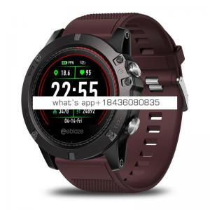 """Zeblaze Vibe 3 ECG IP67 Waterproof Sport Fitness Tracker 1.22"""" Color Touch Screen smart watch for Android & IOS"""