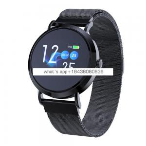 bluetooth big touch screen smart watch health blood pressure ios android