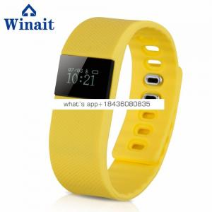 cheap gift sports digital BT bracelet, pedometer fitness wrist band