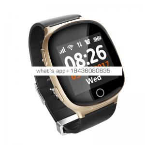 hot selling two way calling gps location SOS heart rate monitor sim card smart watch bracelet for elderly